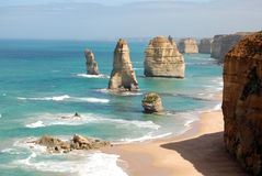 Twelve Apostles on the Great Ocean Road Royalty Free Stock Image