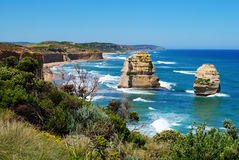 Twelve Apostles on the Great Ocean Road Stock Images