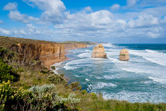 Twelve Apostles, Great Ocean Road Stock Photo