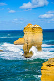 The twelve apostles in Great Ocean Road1. The twelve apostles in Great Ocean Road Royalty Free Stock Photography