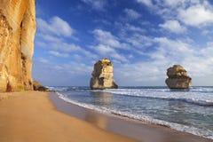 Twelve Apostles on the Great Ocean Road, Australia Stock Image