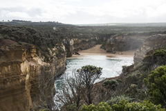 Twelve Apostles on Great Ocean Road. Australia Royalty Free Stock Photo