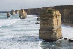 Twelve Apostles on Great Ocean Road. Australia Stock Images