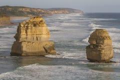 Twelve Apostles on Great Ocean Road, Australia. Stock Photo