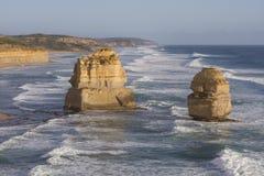 Twelve Apostles on Great Ocean Road, Australia. Stock Photos