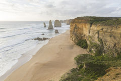 Twelve Apostles on Great Ocean Road, Australia. Stock Image