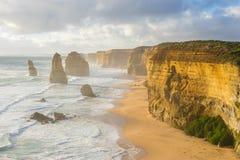 Twelve Apostles in Great Ocean Road in Australia Stock Photography