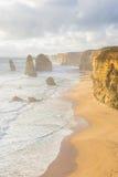 Twelve Apostles in Great Ocean Road in Australia Stock Photos