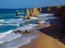 Twelve Apostles by Great Ocean Road Royalty Free Stock Photography