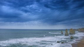 Twelve Apostles Great Ocean Road Melbourne Summer 2018 royalty free stock photos