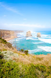 The Twelve Apostles  by the Great Ocean Road in Victoria, Australia Royalty Free Stock Photos