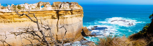 The Twelve Apostles  by the Great Ocean Road in Victoria, Australia Royalty Free Stock Image