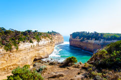 The Twelve Apostles  by the Great Ocean Road in Victoria, Australia Stock Photo