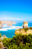 The Twelve Apostles  by the Great Ocean Road in Victoria, Australia Stock Photo