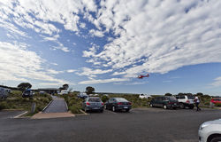 Twelve Apostles Helicopter Tour Stock Images