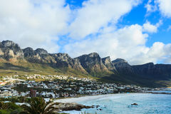 The twelve apostles mountain Stock Photography