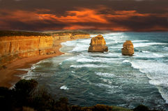 Twelve Apostles, Portland Royalty Free Stock Images
