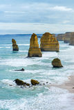 Twelve Apostles Rock Formation Royalty Free Stock Image
