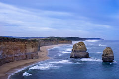 Twelve Apostles in Australia Royalty Free Stock Photos