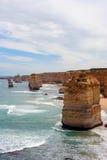 Twelve Apostles in Australia. Remaining rocks of The Twelve Apostles in Australia Royalty Free Stock Photography