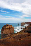 Twelve Apostles, Australia. Rocks of The Twelve Apostles in Australia Royalty Free Stock Photos