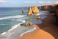 Free Twelve Apostles Seascape Royalty Free Stock Photo - 23892895