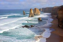 Twelve Apostles seascape Royalty Free Stock Photography