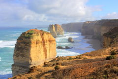 Twelve Apostles seascape Royalty Free Stock Images