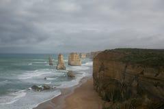 Twelve Apostles Seascape 1 Stock Images