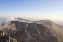 Twelve Apostles seen from Table Mountain 2 Royalty Free Stock Images
