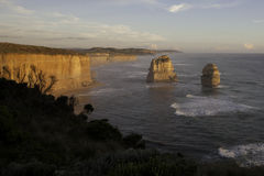 Twelve Apostles sunset Stock Images