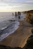 Twelve Apostles sunset Stock Photo