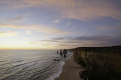 Twelve Apostles sunset Royalty Free Stock Photo