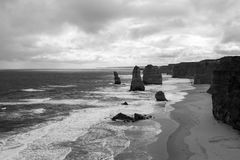 Twelve Apostles. Twleve Apostles, one of the greatest landscape of the world Stock Images
