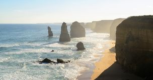 Twelve apostles, Victoria, Australia Royalty Free Stock Images