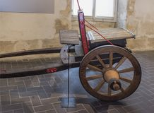 Twelve charging cannon of the second half of the 16th century. Royalty Free Stock Images