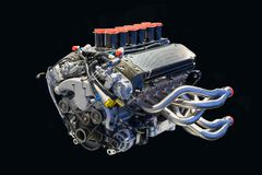 BMW engine royalty free stock photography