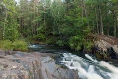 Twelve Foot Falls Park, Marinette County, Wisconsin, USA Royalty Free Stock Photos