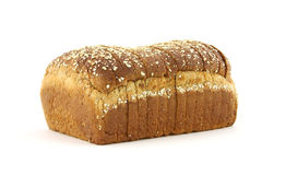 Twelve grain bread loaf Stock Photos