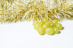 Twelve grapes, for celebrate the new year Royalty Free Stock Photography