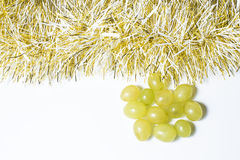 Twelve grapes, for celebrate the new year Royalty Free Stock Images