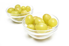 Twelve grapes for two Royalty Free Stock Image