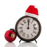 Twelve hours at Christmas time royalty free stock photos