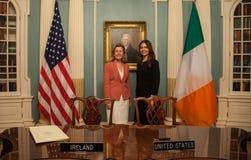 Twelve-Month Irish Work and Travel (IWT) Program Memorandum of Understanding stock images