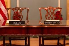 Twelve-Month Irish Work and Travel (IWT) Program Memorandum of Understanding royalty free stock image