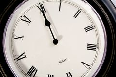 Twelve O'Clock Stock Photography