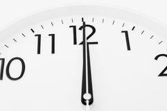 Twelve o'clock Stock Images