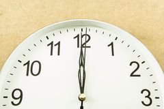 Twelve o clock Royalty Free Stock Photos