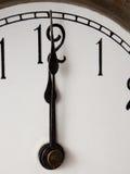 Twelve o'clock royalty free stock photos