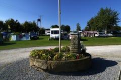 Twelve Oaks Campsite Stock Images